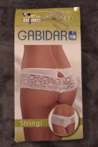 Gabidar stringi 143 białe M