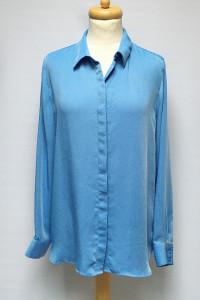Koszula Niebieska H&M XXL 44 Oversize Mgiełka Luzna