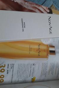 Oczyszczajacy olejek do twarzy Novage Nowy z Oriflame 150 ml