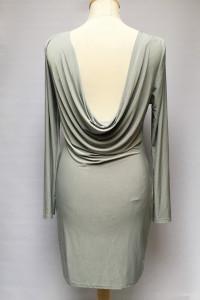 Sukienka NOWA Missguided Odkryte Plecy XL 42 Miętowa...