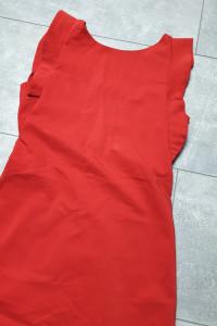 Zara czerwona delikatna sukienka L...