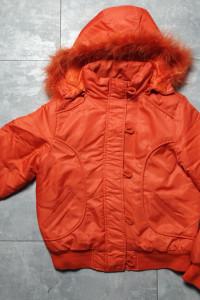 Kurtka zimowa pomarańczowa orange 40 L...