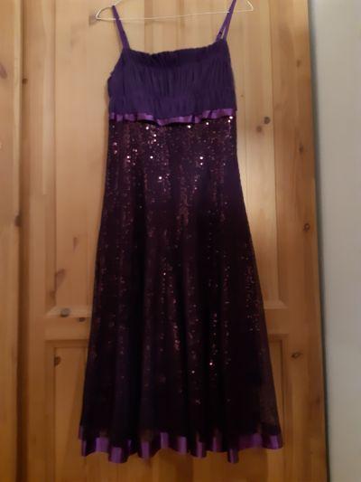 Suknie i sukienki Fioletowa sukienka J&J