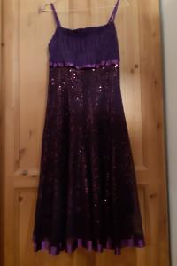 Fioletowa sukienka J&J