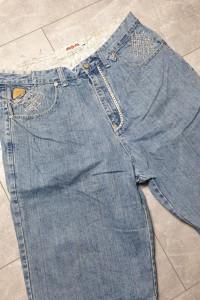 Jeansowe klasyczne spodenki 36