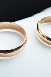 nowe złote obrączki od jubilera klasyczne półokrągłe 585 5 mm...