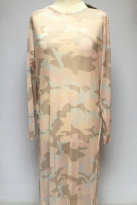Tunika Sukienka Plażowa NOWA MIssguided 6XL 52 Moro Róż