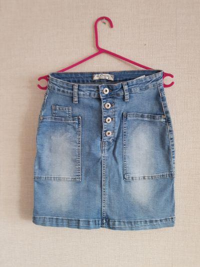 Spódnice Spodnica jeansowa