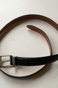 Pasek Czarny Ralph Lauren Skóra Skórzany Naturalna 92 cm...