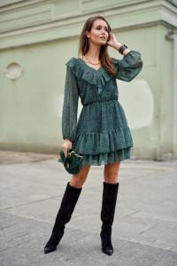 Rozklozowna sukienka 298 wzory kolory 36 38 40...