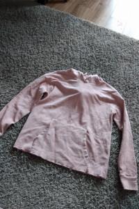 Sztruksowa bluza z kapturem...