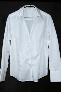 seidensticker Śliczna taliowana bawełniana koszula roz 40