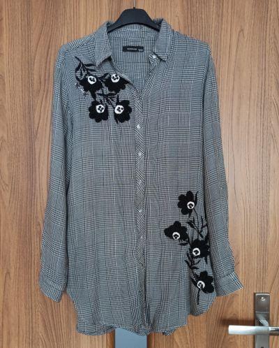 Koszule Koszula krata aplikacje Reserved 36 S