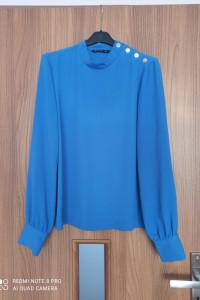 Koszula bluzka Stradicarius S 36 kobalt...