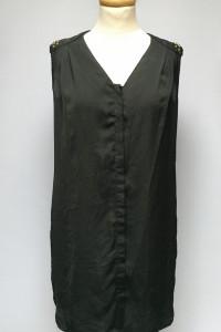 Bluzka Czarna Gina Tricot S 36 Ćwieki Koszula Dłuższa...