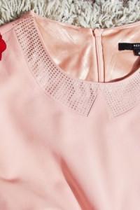 Sukienka Reserved 40L pudrowy róż...