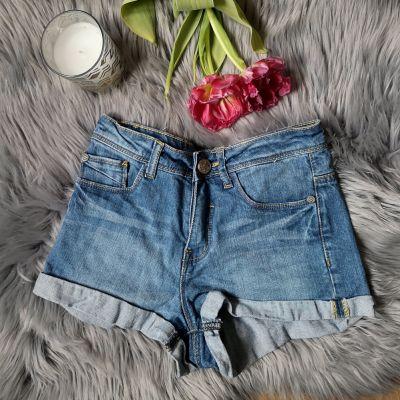Spodenki spodenki jeansowe szorty Sinsay