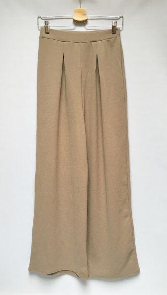 Spodnie Spodnie Brązowe Boohoo L 40 Szerokie Nogawki Dzwony