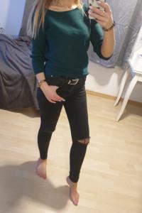 Zielony sweter Reserved 34 36