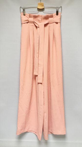 Spodnie Spodnie Różowe Szerokie Nogawki Dzwony River Island M 38