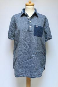 Koszulka Bluzka Koszula Hollister XL 42 Niebieska Ala Dzinsowa...