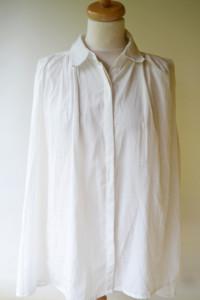 Koszula Biała Havana XL 42 Koronka Wizytowa Luzna...