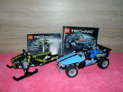 Zabawki LEGO Technic 42022 i 42021