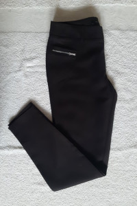 Eleganckie nowe czarne spodnie Mohito...