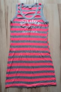 Hollister długa tunika bluzka damska Logo M 38...