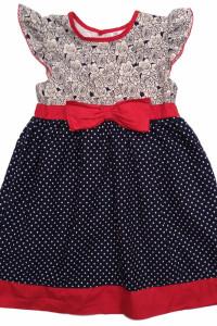 Sukienka dziecięca Marynarskie barwy 4x5 lat