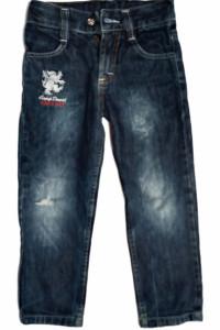 CAMP DAVID jeansy dzinsy dziecięce LOGOWANE 110cm