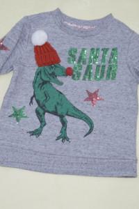 Ciepła bluzka z dinozaurem 110 F&F...