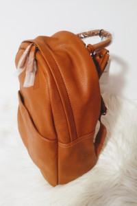 Karmelowy koniakowy plecak Glamorous