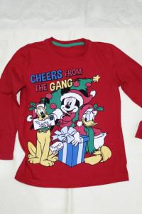 Czerwona bluzeczka świąteczna Miki 116...