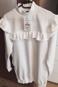 Sukienka biała z falbanką Alcott M...