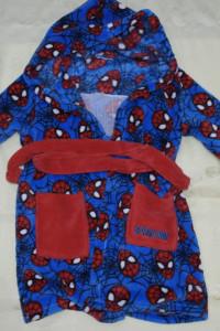 Szlafrok dziecięcy Spider Man 110 116...