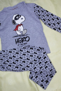 Piżamka dwuczęściowa dla chłopca 104 110