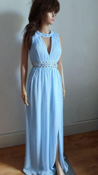 Suknie i sukienki Wieczorowa Szyfonowa Sukienka