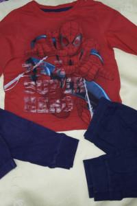 Piżamka chłopięca Spider Man 98 104