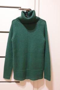 Solar M 38 sweter golf zielony zieleń moher...