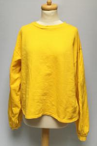 Bluza Żółta NLY Trend XL 42 Oversize Szerokie Rękawy...