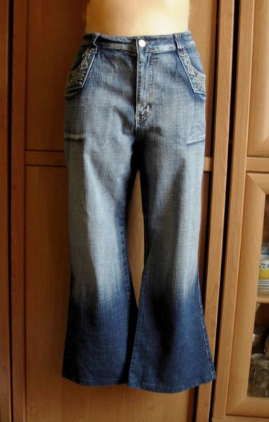 Spodnie Vs miss dzwony y2k vintage retro 46