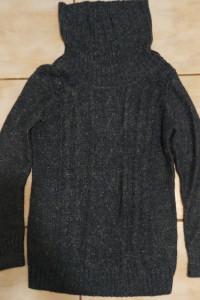 Sweter golf Camaieu S ciemny turkus