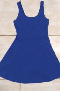 Sukienka letnia kobaltowa HM 36