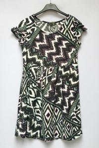 Sukienka Wzory S 36 Dorothy Perkins Cętki Rozkloszowana...