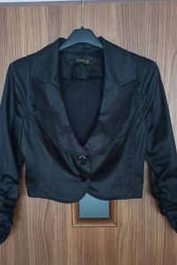Czarne bolerko eleganckie 40 L