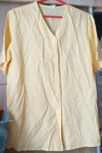 zolta koszulowa bluzka damska...