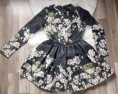 Suknie i sukienki Sukienka w kwiaty A Rudzka
