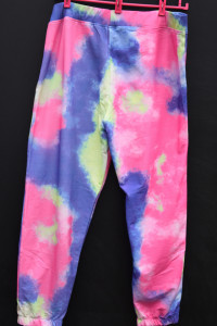 Cieniowane spodnie dresowe Duży rozmiar około 50