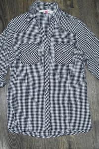 Bluzka koszulowa w krateczkę 158...